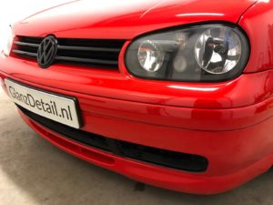 glascoating golf gti