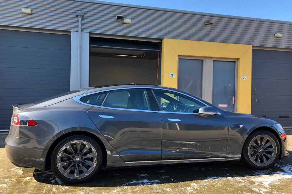 glascoating tesla model s