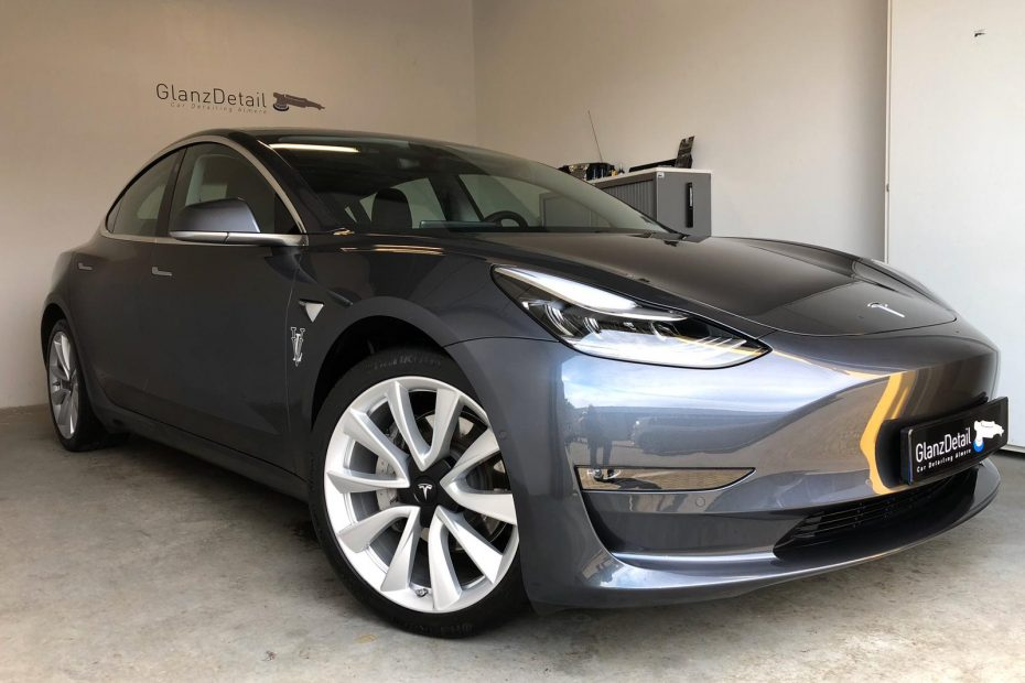 tesla glascoating