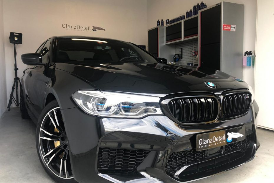 bmw m5 competition glascoating
